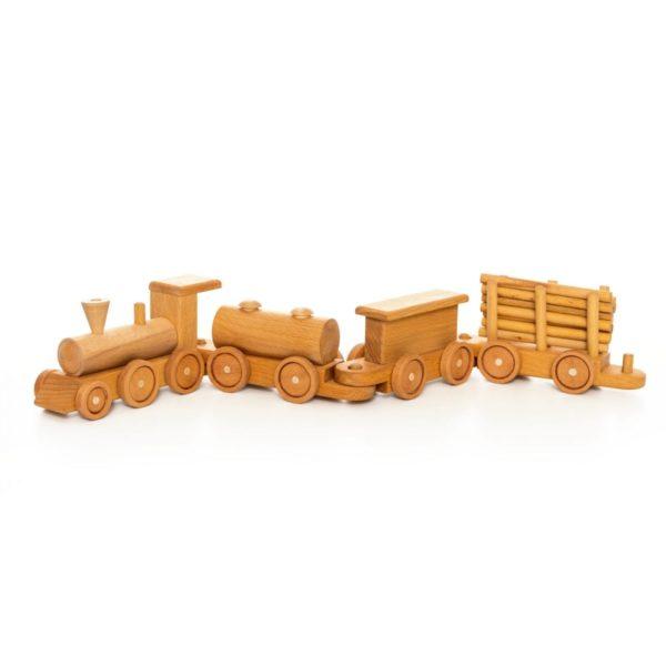 """Деревянная игрушка """"Поезд"""""""