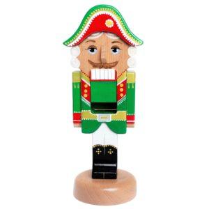 """Деревянная игрушка """"Щелкунчик"""", зеленый"""