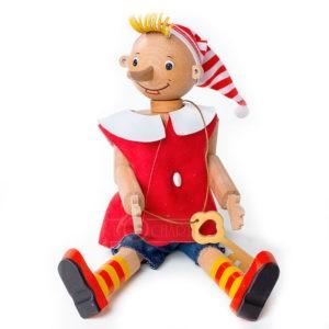 """Деревянная игрушка """"Буратино"""", бук"""