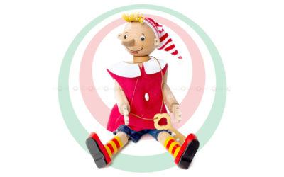Деревянная игрушка «Буратино», бук
