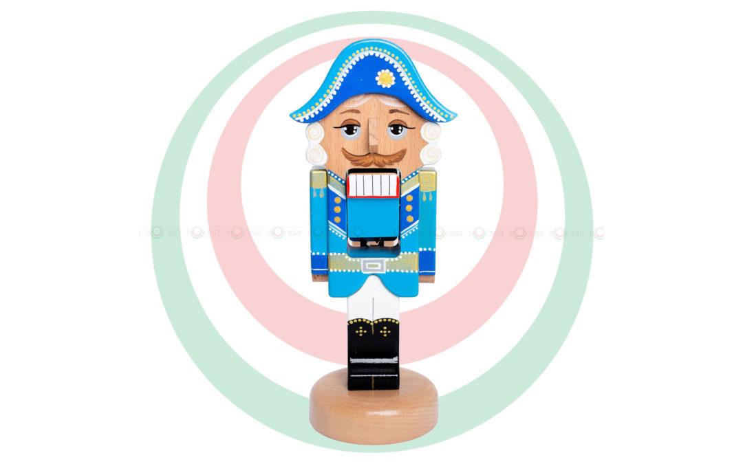 Игрушка деревянная «Щелкунчик», синий