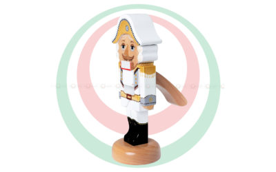 Игрушка деревянная «Щелкунчик», белый