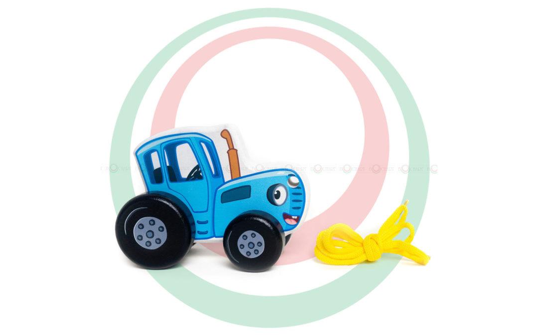 Каталка «Синий трактор»