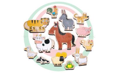 Комплект животных для «Синего трактора»